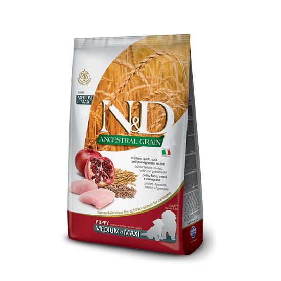 N&D Chicken & Pomegranate Medium Maxi-Puppy - 1