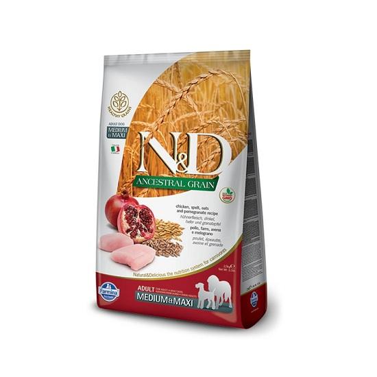 N&D Chicken & Pomegranate Medium Maxi-Adult - 1
