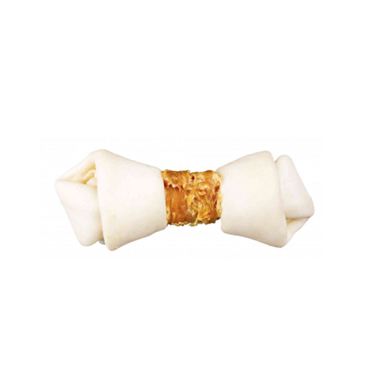 Knotted Chicken Chewing Bone - 1