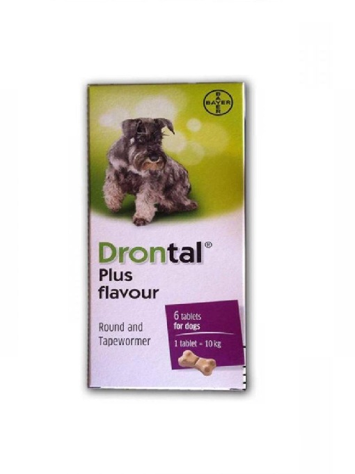 DRONTAL PLUS worming tablets for dogs - 2