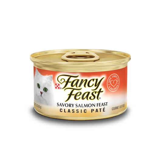 Fancy Feast® Classic Paté Savory Salmon Gourmet Wet Cat Food - 1