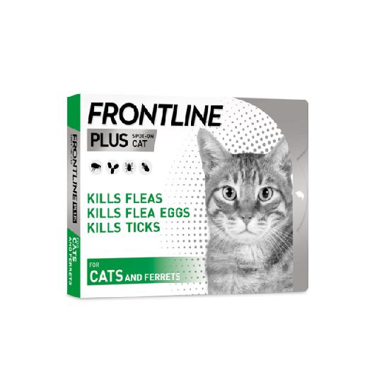 فرونت لاين® بلس للقطط - 1