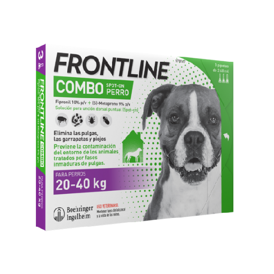 Frontline® Combo for dogs 20 to 40 kg - 1